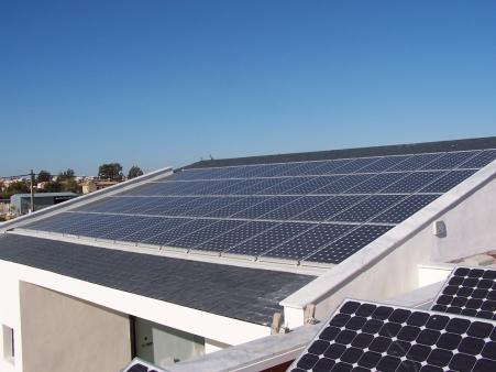 Energía solar térmica y energía solar fotovoltaica - Vista 1