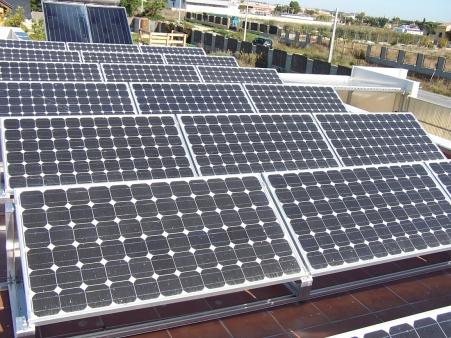 Energía solar térmica y energía solar fotovoltaica - Vista 2
