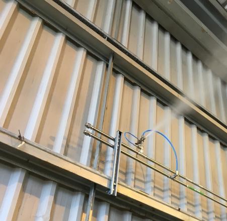 Supresión de polvo, olores y electricidad estática - Vista 2